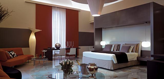 El exedra lujo e inmejorable ubicaci n en roma for Hoteles de lujo habitaciones