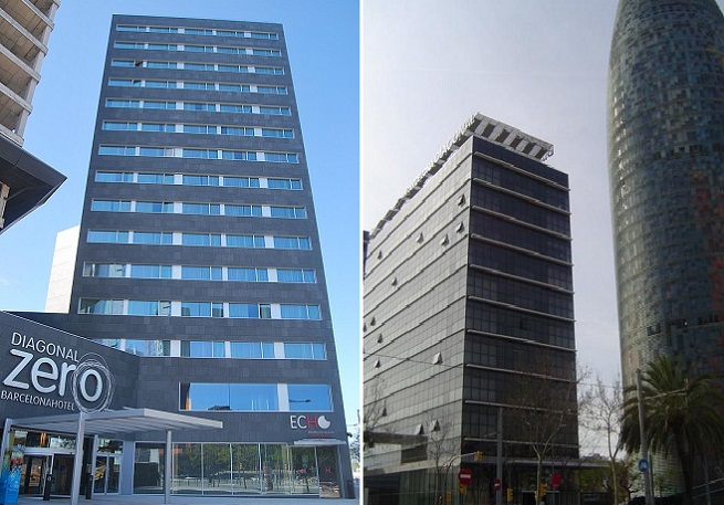 Hotel diagonal zero en barcelona for Hoteles familiares en barcelona ciudad