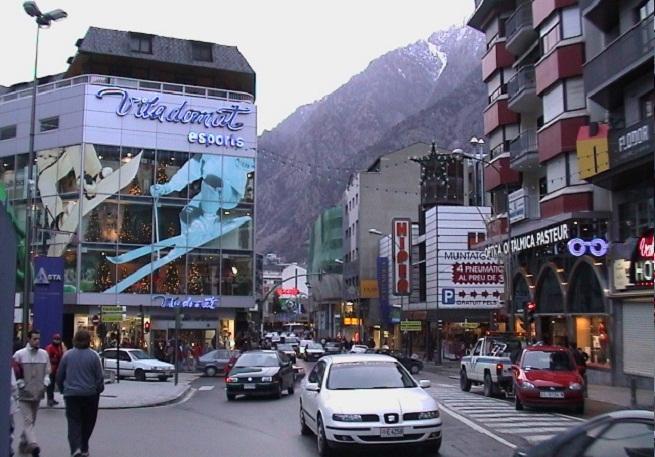 Hoteles Cinco Estrellas En El Centro De Andorra