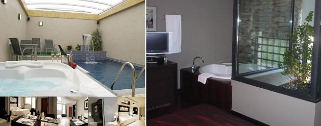 Baño Relajante Jacuzzi:Hoteles con jacuzzi en la habitación en Madrid