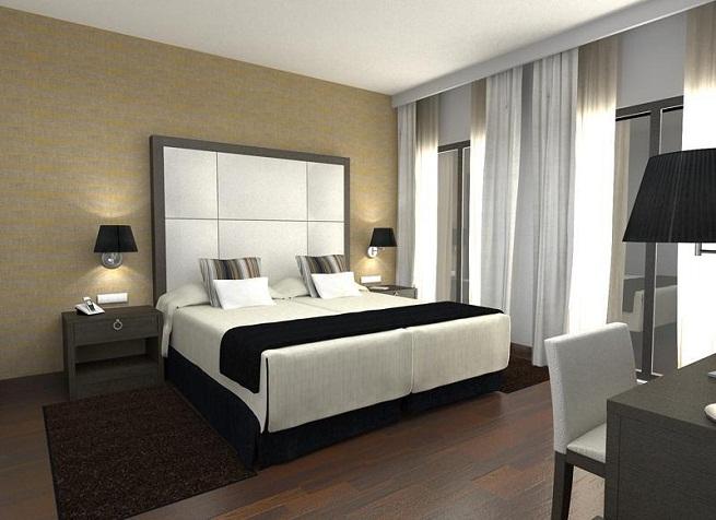 Hoteles con jacuzzi en la habitaci n en sevilla for Hoteles con habitaciones comunicadas