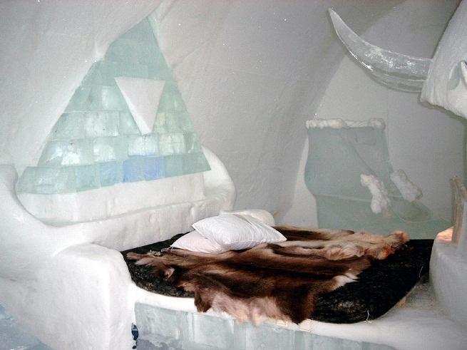 H tel de glace un hotel de hielo en canad for Los mejores hoteles boutique del mundo