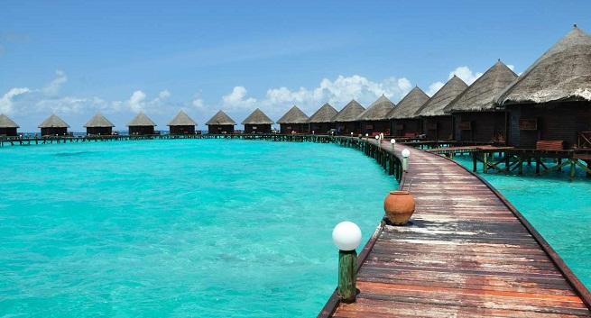 hoteles con caba as sobre el agua en las maldivas
