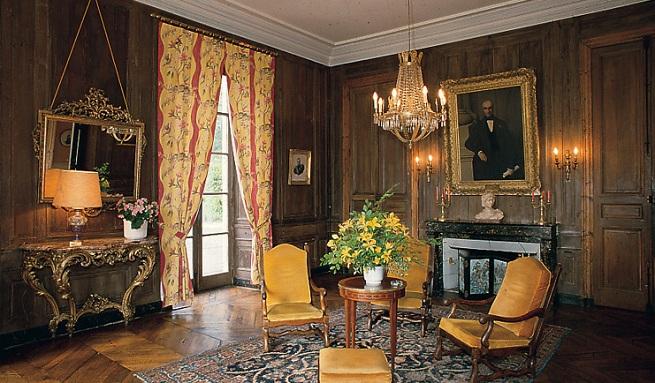 Hotel 39 ch teau de locgu nol 39 en francia for Decoracion estilo ingles clasico