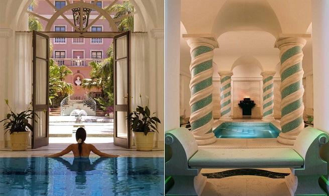 hoteles de lujo con spa en espa a
