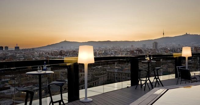 Mejores terrazas de hotel en espa a - Terrazas de barcelona ...