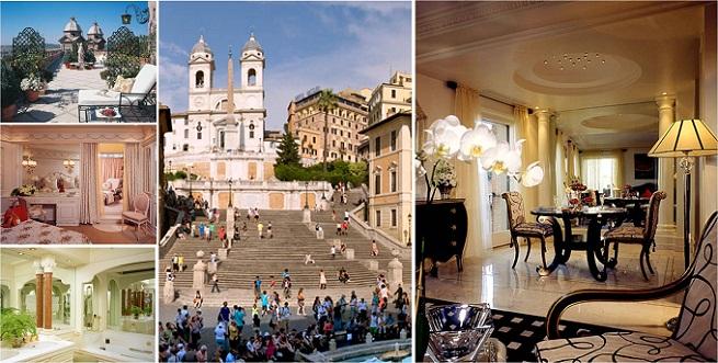 Los mejores cinco estrellas de roma - Hoteles roma 5 estrellas ...