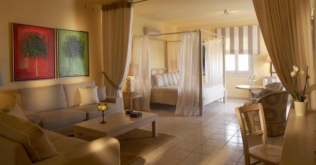 Hoteles de lujo en mykonos for Hoteles de lujo habitaciones