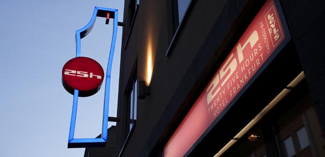 hoteles economicos en frankfurt: