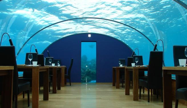 Hoteles submarinos for Hoteles mas lujosos del mundo bajo el mar