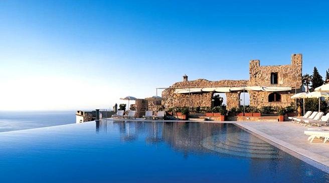 Un hotel con una piscina de ensue o en italia - Piscinas de ensueno ...