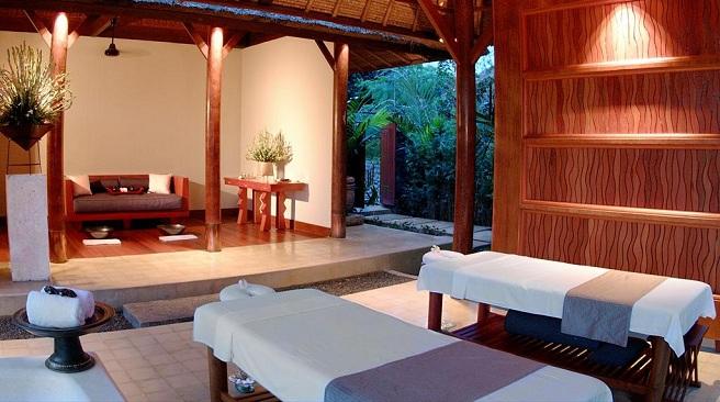 Disfruta de la espectacular piscina del hotel alila ubud for Follando en la piscina del hotel