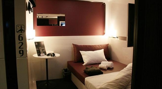 Los hoteles cabina de jap n for Habitacion de 8 metros cuadrados