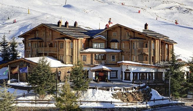 lodge ski spa resort el nico hotel de lujo a pie de