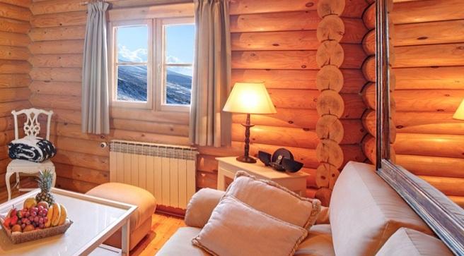Lodge ski spa resort el nico hotel de lujo a pie de - Hotel en sierra nevada con spa ...