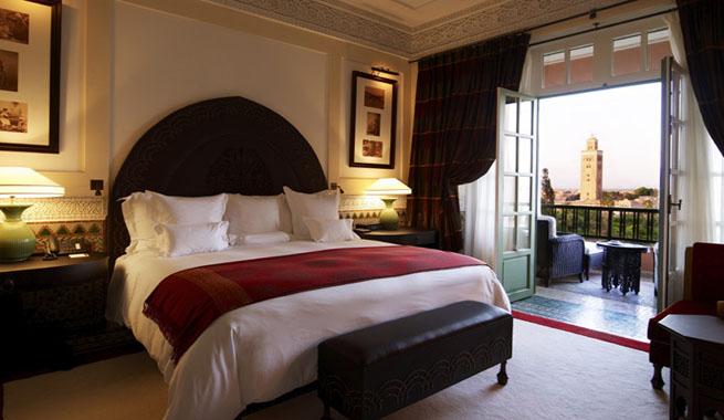 La mamounia lujo en marrakech for Habitaciones de hoteles de lujo