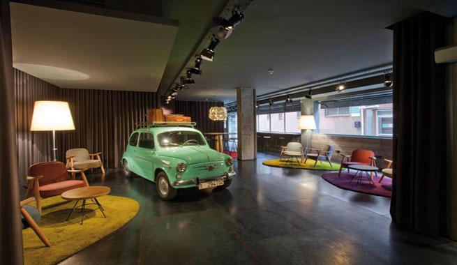 Hotel inspirado en la espa a de los 60 - Hoteles de diseno en espana ...