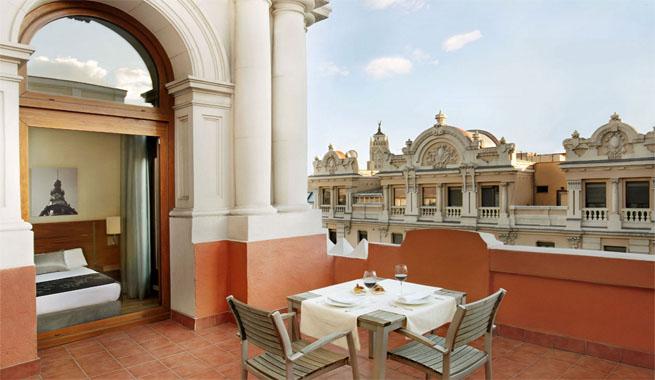 hoteles con terraza en la habitaci n