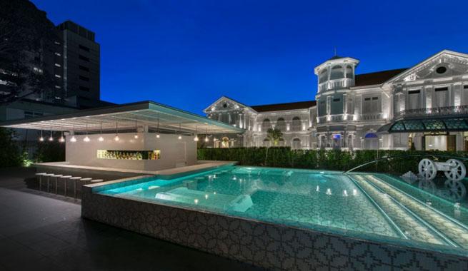 Espectacular hotel de lujo en malasia for Mansiones con piscina