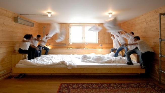 El hotel con la cama m s grande del mundo - Camas grandes ...