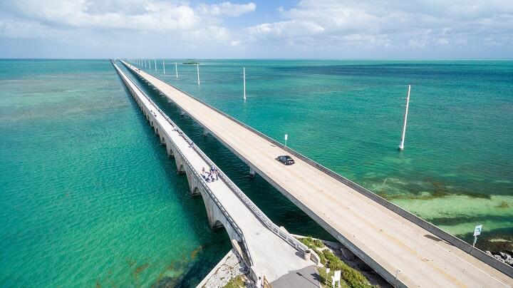 Ruta-de-Miami-a-Cayo-Hueso-en-un-coche-de-alquiler